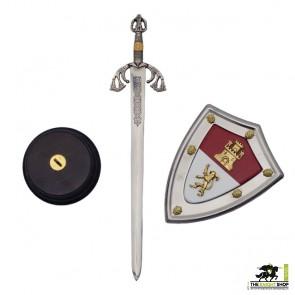 El Cid Letter Opener and Shield Set