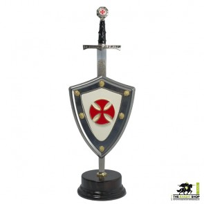 Crusaders Letter Opener and Shield Set