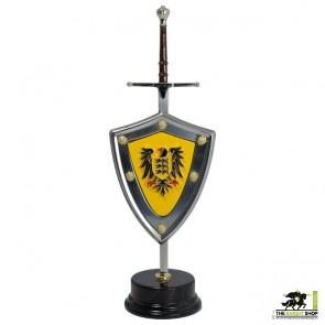 Barbarossa Letter Opener and Shield Set