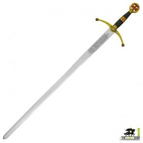 Crusader Sword (Brass Hilt)