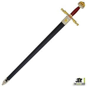 Charlemagne Sword with Scabbard - Deluxe