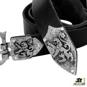 Order of the Lion Sword Belt - Antique Silver