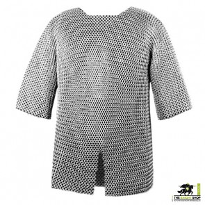"""Chainmail Haubergeon - Butted - 60"""" Chest"""