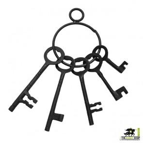 Medieval Castle Dungeon Keys - Set of 5