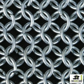 Chainmail Hauberk - Butted - Zinc Plated - 64