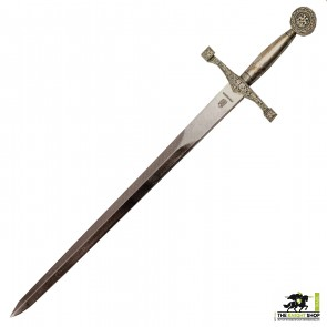 Excalibur Letter Opener - Silver Plated