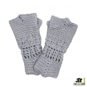 Knitted Knight's Gauntlets - Child Size