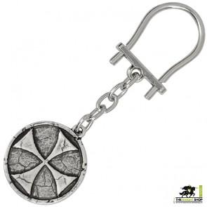 Templar Cross Keyring