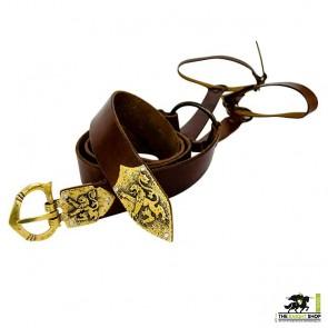 Order of the Lion Sword Belt - Antique Brass