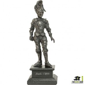 Miniature Pewter Knight with Mace