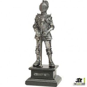 Miniature Pewter Knight with Sword