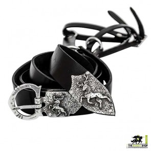 Order of the Stag Sword Belt - Antique Silver