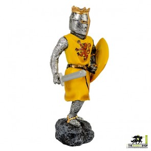 Case of 12 - Robert the Bruce Figurines with Sword - 18cm