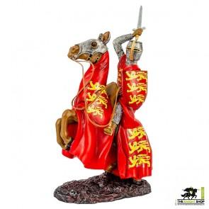 Edward I on Horseback Figurine