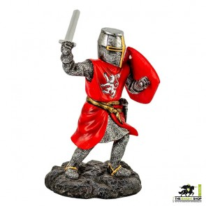 Fighting William Wallace with Sword Figurine - 18cm