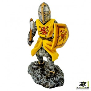 Case of 12 - Fighting Robert the Bruce with Axe Figurine - 18cm