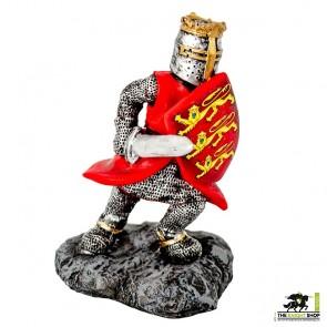 Edward I Figurine with Sword - 9cm
