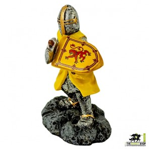 Case of 24 - Robert the Bruce Figurine with Axe - 9cm