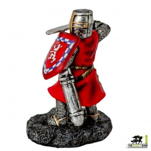 Fighting William Wallace with Sword Figurine - 9cm