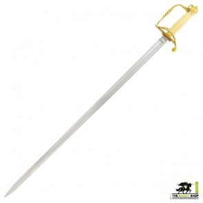 British Officer's 5 Ball Spadroon (Sword) - 1786 Pattern