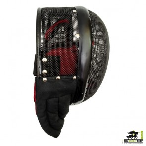 Large 1600N Red Dragon HEMA Tournament Fencing Mask